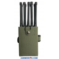 CT-1010-5Ghz 10 Bands 10W 5Ghz 3G 4G GPS RC 433 868 Lojack WIFI Jammer up to 30m